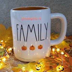 New Rae Dunn Family Pumpkin mug